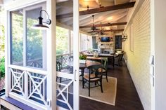 Design Ideas Enjoy your property and privacy in style with the right back porch design scheme.Enjoy your property and privacy in style with the right back porch design scheme. Outdoor Rooms, Outdoor Living, Back Porch Designs, Screened Porch Designs, English Cottage, Sliding Screen Doors, Sliding Wall, Casas Containers, Decks And Porches
