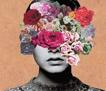 Inspiring picture collage, flowers, twiggy. Resolution: 454x500 px. Find the picture to your taste!