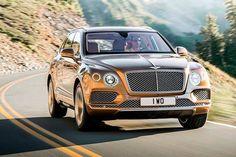 O Bentayga é primeiro SUV produzido pela Bentley. É equipado com motor 6.0 W12 de 608 cv de potência.Veja a galeria de fotos