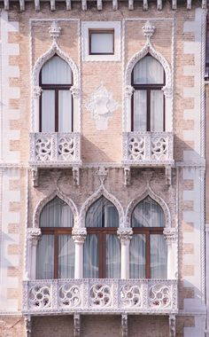 Venice Architecture Photography – Venetian Gothic Windows, Italy Travel Photograph, Neutral Home Decor, Large Wall Art – architecture Gothic Architecture, Beautiful Architecture, Beautiful Buildings, Architecture Details, Architecture Definition, Architecture Panel, Drawing Architecture, Japanese Architecture, Architecture Portfolio