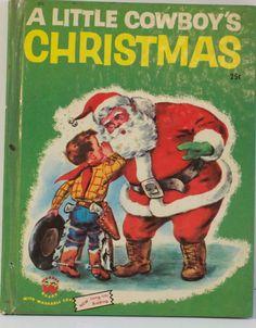 A Little Cowboy's Christmas - A Wonder Book