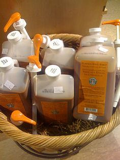 How to Make Starbucks Pumpkin Spice Syrup - Copycat Recipe Guide.     I made this today and it is so good in my coffee with a little milk. Delicious!