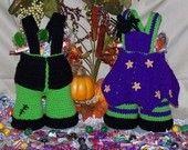Halloween Treasure Trousers and Trousseau PDF Crochet Pattern