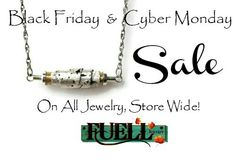 30% off Black Friday and 25% off Cyber Monday FUELL Jewelry's Handmade Rustic Jewelry #blackfridayjewelrysale #cybermondayjewelrysale #handmadejewelry sale #handmadejewelry