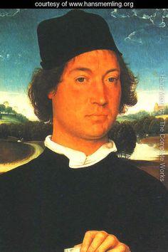 Portrait of a Man - Hans Memling - www.hansmemling.org