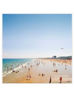 ...to hang in our offices and remember life IS a beach. (East Coast Beach, $299, Thom Felicia.)