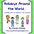Holidays Around the World is one of my students favorite memories each and every year!  Students grab their passport and suitcase to travel to 10 different country stations!!