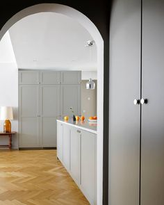 A gloomy morning greets you when glancing through the window from bed. A smile rises to your face as you enter the kitchen and it welcomes… Morning Greeting, Kitchen Models, Kitchen Doors, Through The Window, Kitchen Collection, Small Changes, Ikea Hack, Kitchen Living, Storage Solutions