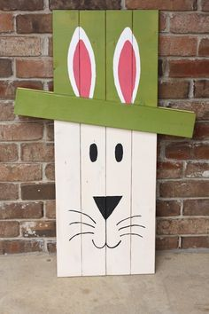 Rustic Easter and St. Patricks Day by WoodWorksByJosh on Etsy