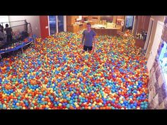 Amazing plastic ball prank... always wanted to do this.