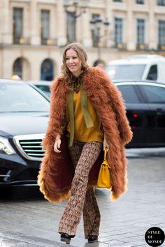 Kseniya Sobchak Street Style Street Fashion Streetsnaps by STYLEDUMONDE Street Style Fashion Blog