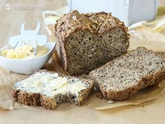 Following several requests, I decided that my next video recipe should be this Grain-Free Sunflower Bread from my Apps. It's light, savoury and tastes just like wholegrain sunflower or rye bread. It's