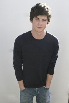 Logan Lerman...I don't care if he is younger than me...he is too cute and I can't wait for the next Percy Jackson Movie ha ha
