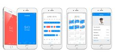 Users can glance at the app and know whether to save, (red interface), or go ahead and spend, (blue interface).Users simply link their account and set a savings goal. Then Scrooge deducts fixed spending and calculates your daily spending limit. If you overspend Scrooge will recalculate, and you can track your progress with a calendar function.