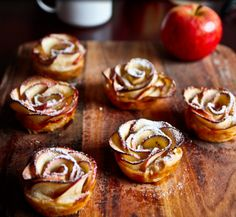Apple Flower Tarts | 25 Sweet Treats For Anyone Who Really Loves Apple Pie