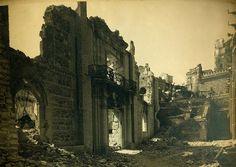 Ruinas del edificio de Santiago de los Caballeros