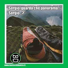 Dov'è finito Sergio? Tagga i tuoi amici e #condividi #bastardidentro #montagna #caduta www.bastardidentro.it