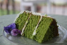 Spinach Cake with Cream Cheese Frosting