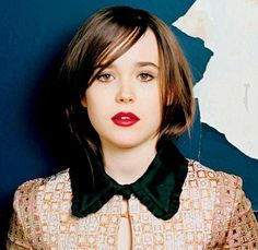 Ellen Page Short Bob Cut Hairstyle Pictures