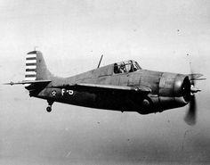 Wildcat fighter in flight, Jan-May 1942