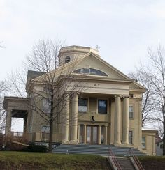 Pi Chapter House of Psi Upsilon Fraternity in Syracuse, New York.