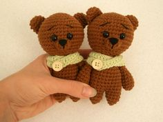 Free crochet animal patterns - teddy bears
