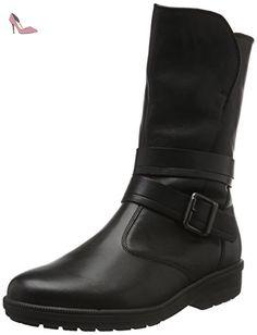 Ganter KATHY, Weite K, Bottes mi-hauteur avec doublure chaude femme - Noir - Noir (0100), 35.5 EU (3 UK) - Chaussures ganter (*Partner-Link)