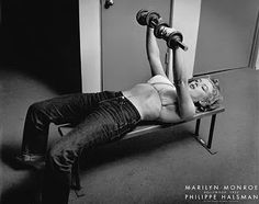 Norma Jeane Mortensen Baker - how do you think Marilyn got her curves? Weight lifting!