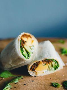 Wraps med Pulled Oats®, mango, avocado & yoghurtsås - Pulled Oats recept - Gold&Green