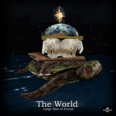 The World Is Supported By Four Elephants On Back Of A Turtle