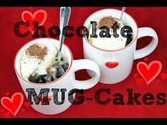 Chocolate MUG CAKE Recipe! Make 5 min Microwave Chocolate CUP-Cake for TWO!