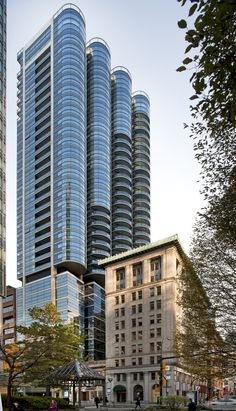 Built by Foster + Partners in Vancouver, Canada with date 0. Images by Nigel Young / © Foster and Partners. Designed by Foster + Partners, the Jameson House is a new 35-storey mixed-use tower in the heart of Vancouver and inc...