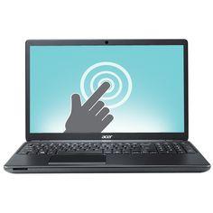 "Acer Aspire E1 15.6"" Touchscreen Laptop - Black (Intel Pentium N3520/500GB HDD/8GB RAM/Windows 8.1)"