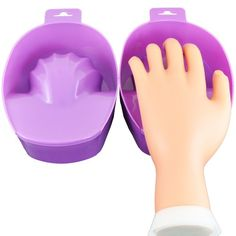 Beauties Factory Purple Nail Art Soak Bowl Manicure SoakOff Hand Spa Use -- Check out the image by visiting the link. (This is an affiliate link) Beauty Factory, Best Amazon Buys, Purple Nail Art, Manicure Y Pedicure, Rainbow Sprinkles, Eyelash Curler, Nail Accessories, Nail Supply, Nail Art Tools