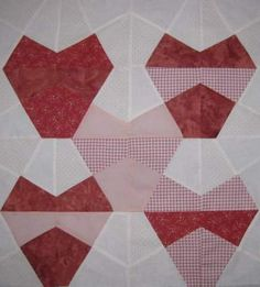 Hearts. Quilt from Chameleon by Marci Baker