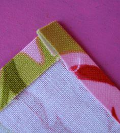 DIY cloth napkin Tute