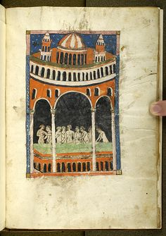 De balneis Puteolanis, MS G.74 fol. 29r - Images from Medieval and Renaissance Manuscripts - The Morgan Library & Museum