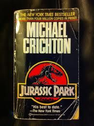 I was heavily influenced by Jurassic Park.  I had watched the movie before I knew that it was based on a book.  After finding this out, I decided to read the book to see if it was very different.  That was where I realized that books can let you use your imagination rather than a movie giving you their interpretation of the book.