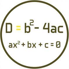 Discriminante de una ecuación de segundo grado