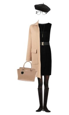 """Sunday"" by rasa-j ❤ liked on Polyvore featuring Ray-Ban, Rochas, Stuart Weitzman, Michael Kors, Cole Haan, Accessorize, michaelkors, StuartWeitzman, womenfashion and rochas"
