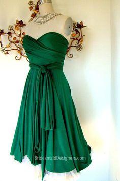 Classical Short Strapless Sweetheart Bridesmaid Dress Ruffled Hemline