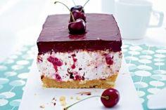 Cherry - Stracciatella - Cake Kirsch-Stracciatella-Kuchen