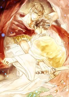 Lucius (head-canon name for Rome) and Yao - Art by kido_kan I don't ship but this is really good art
