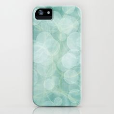 Bubbles and Swirls! iPhone Case by Susan Weller