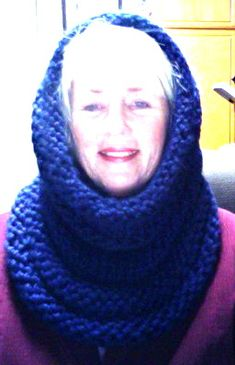 Cowl to Hood by hotdigitylife,free pattern