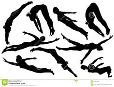 Competitive Swimming Clip Art Silhouette - Bing Images ...