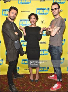 Dominic Cooper, Ruth Negga and Joe Gilgun