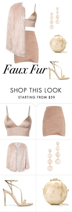 """""""Marble fur"""" by luizaccampana ❤ liked on Polyvore featuring Fleur du Mal, Sans Souci, Rebecca Minkoff, Gianvito Rossi and Serpui"""