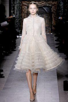 Valentino Spring 2013 Couture Fashion Show - Katya Riabinkina (Elite)