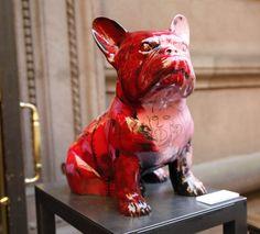 "Julien Marinetti's ""Doggy John"" Guards the Palace Gates  French bulldog NY!!"